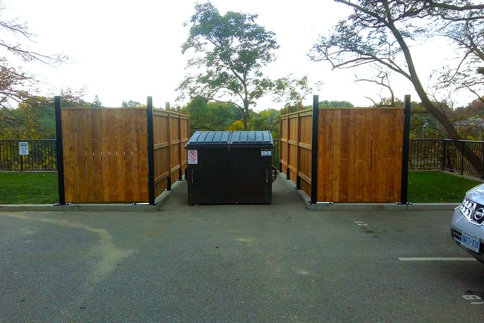 Recycling Enclosure 24